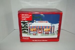Coca Cola Ed's Diner Main St Collection