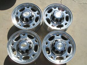Chevrolet Gmc 8 Lug Truck Alloy Wheels 16 X 6 5 16 5079 Rims Caps Lug Nuts