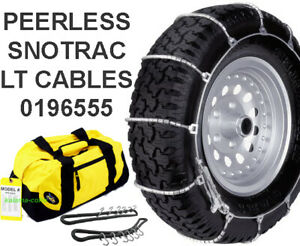 Peerless Truck Tire Snow Snotrac Cable Chains 0196555