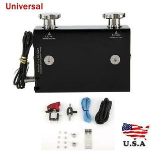 Universal Electronic Adjustable Dual Stage Car Turbo Boost Controller Kit Us