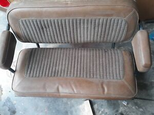 Shipping Included 1966 1977 Early Ford Bronco Rear Seat Houndstooth 1975