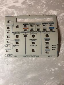 Tektronix 333 4219 00 Front Control Sheet Sticker For Tds420 Tds420a Tds460