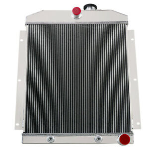 3 Row Radiator For 1948 1954 53 Chevrolet Truck 3100 3600 3700 3800 3900 3 8l L6