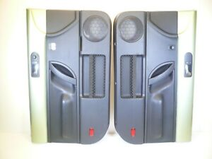 98 10 Vw Beetle Oem Door Panels Pair Driver Passenger Black Green Coupe Lh Rh