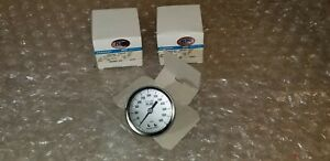 Ashcroft Industrial Duralife Gauge Plus 25 1009aw02bxll 2 1 2 New