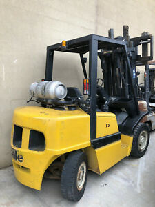 Yale Glp080 Pneumatic Forklift