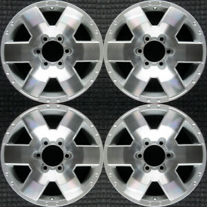 Set 2007 2008 2009 2010 Toyota Fj Cruiser Oem Factory Original Wheels Rims 69503