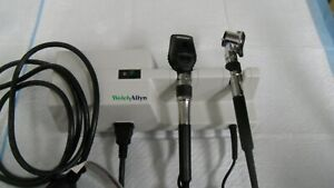 Welch Allyn Otoscope Ophthalmoscope Set Used