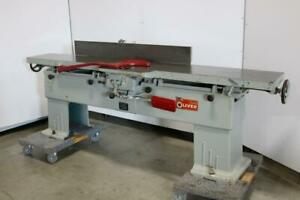 Oliver Machinery Co 166 bd Jointer 12