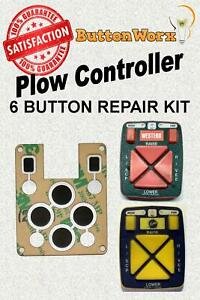 Fisher Fishstik Western Plow Repair Pad For 6 Button Controller Mvp V Plow