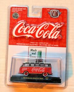 M2 Diecast 1/64 COKE Coca-Cola 1962 VW Microbus DE-01 CHASE Car 1 of 750