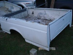 92 97 Ford F 150 250 350 Pickup Truck Bed White 8 Foot Box Srw