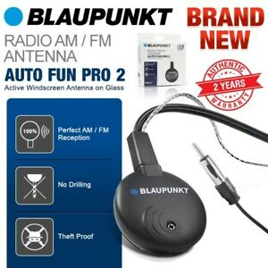 Blaupunkt Auto Fun Pro 2 Car Glass Windscreen Radio Stereo Am Fm Antenna Aerial