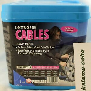 Peerless Lt Suv Tire Cable Chains 0196155
