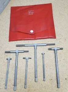 Mitutoyo No 155 903 Telescoping Gages Set Of 6 5 16 To 6