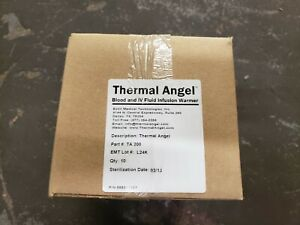 New Case Of 10 Estill Thermal Angel Blood Iv Fluid Infusion Warmer Ta 200