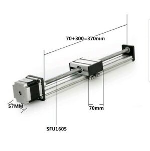 300mm Travel Length Linear Stage Actuator Diy Cnc Router Parts X Y Z Linear Rail