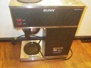 Bunn Vpr Commercial 12 Cup Coffee Maker Brewer Series 33200 0001 No Decanter