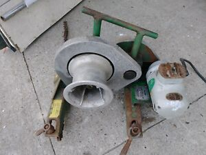 Greenlee 640 Wire Tugger Power Puller Cable Puller Free Shipping