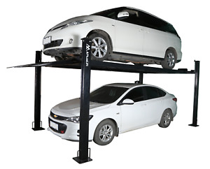Apluslift Hw 8s Four Post Portable Storage Auto Hoist Car Lift 8000 Lb Capacity