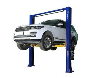 Apluslift Hw 10koh Two Post Over Head Auto Hoist Car Lift 10 000 Lb Capacity