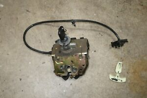 Ford Focus 00 04 Sedan Trunk Electric Latch With Key 4 Door Lock Release Cable