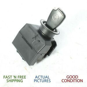 05 06 07 Mercedes Benz Slk350 Ignition Switch W Smart Key Oem