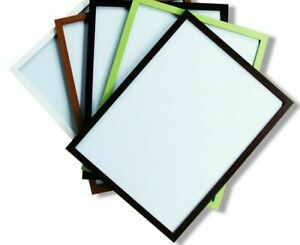 Magnetic White Board With Frame Pens Writing Tools Easy Erase School Office Work