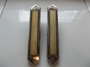 1975 79 Lincoln Continental Town Car Oem Opera Courtesy Light With Bezel Pair