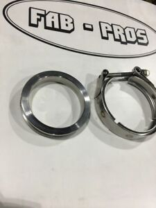 Stainless 3 V Band Flange Clamp Pte Ptp074 3012 Flange Stainless Clamp