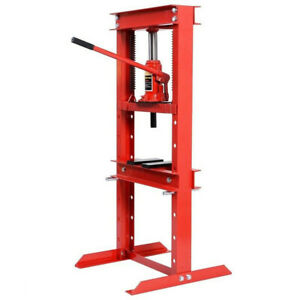 12 Ton A Frame Shop Press Benchtop Hydraulic Jack Lift Hoist