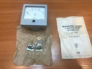 Russian Panel Meter Dc 3a M42101 Nos Lot Of 1