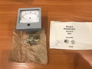 Russian Panel Meter Dc 20a M42101 Nos Lot Of 1