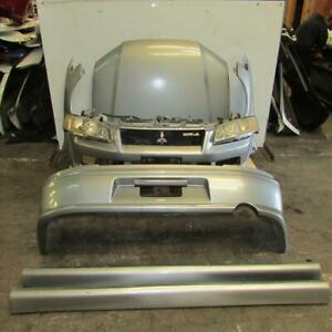 Jdm Mitsubishi Lancer Evolution 7 8 Front End Nose Cut Conversion Skirts Ct9a