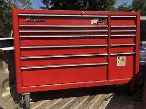 Snap on 13 Drawer Tool Box Roll Cab Red Kra5213d