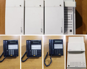 Panasonic Whole Office Phone System 37 Phones