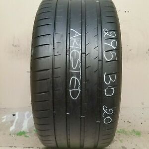 1 Tire 295 30 20 Michelin Pilot Super Sport 62 72 Tread No Repairs