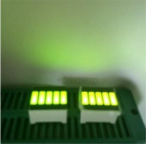 5pcs Led Bar Display Segments 5led Bar Graph Yellow Green Light 5 Segment Bar Fp