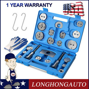 Set 25pcs Universal Disc Brake Caliper Brake Piston Wind Back Rewind Hand Tools
