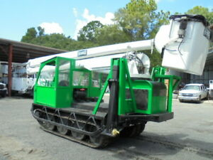 Bombardier Track Carrier With Hi Ranger Articulating Boom Bucket Lift