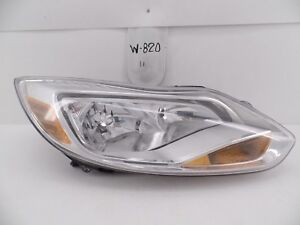 Used Oem Head Light Ford Focus 12 13 14 Headlight Lamp Headlamp Top Chip Mount