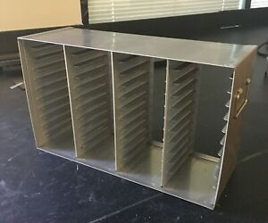 Stainless Steel Freezer Drawer Racks For 96 384 Well Microtiter Plates