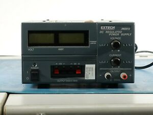 Extech 382213 Dc Regulated Power Supply Professionally Tested