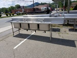 4 Compartment Sink