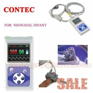 Neonatal Infant Bundled Pulse Oximeter Spo2 Monitor 24 Hour Usb Free Pc Software