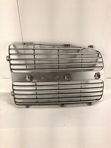 For 2002 2003 2004 2005 Dodge Ram Pickup 1500 Lh Left Drive Grille Insert Silver