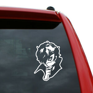 Persona Joker Vinyl Decal Color White 5 Tall