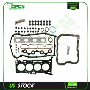Head Gasket Set oil Pan Gasket For Dodge Caliber Jeep Patriot Compass 2 0l Dohc