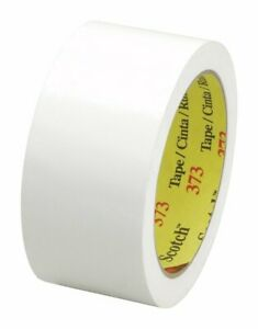373 Scotch Box Sealing Tape White 72 Mm X 50 M pack Of 24