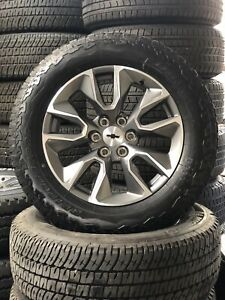 20 Chevrolet Silverado Tahoe Ltz 2019 Oem Wheels Rims Tires A T New Take Offs